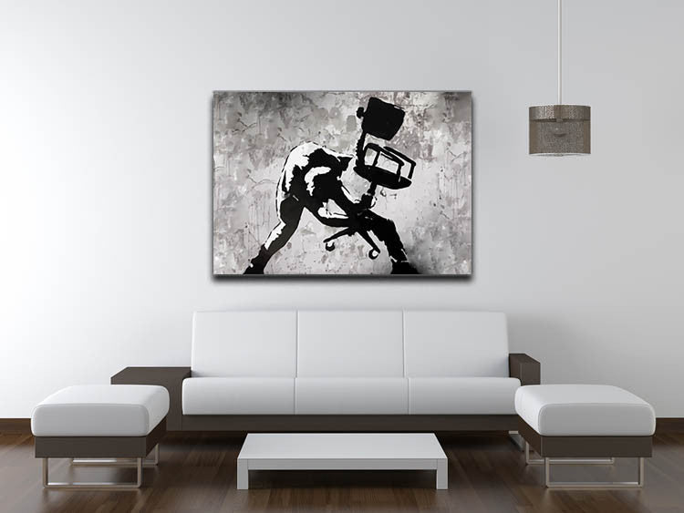 Banksy London Calling Print - Canvas Art Rocks - 6