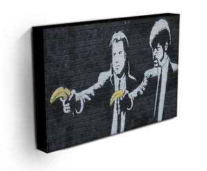 Banksy Pulp Fiction Banana Guns Print - Canvas Art Rocks - 3