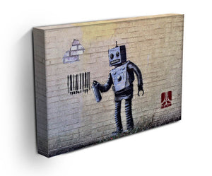 Banksy Robot Print - Canvas Art Rocks - 3