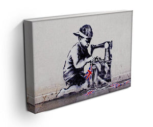 Banksy Slave Labour Print - Canvas Art Rocks - 3