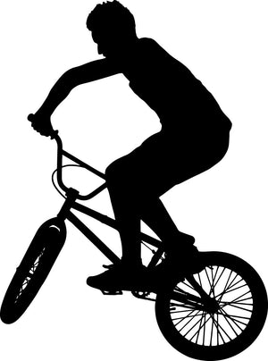 BMX Wall Decal - US Canvas Art Rocks