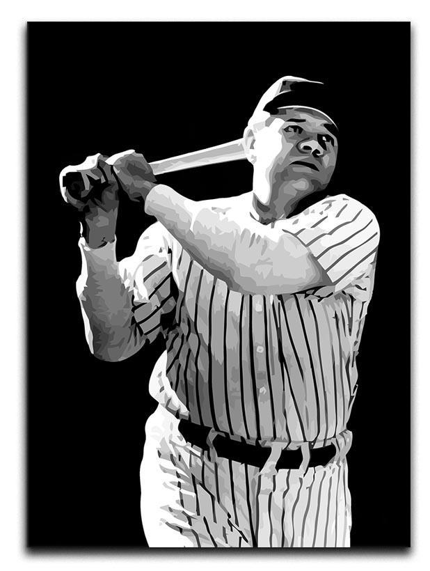 Babe Ruth Canvas Print or Poster  - Canvas Art Rocks - 1