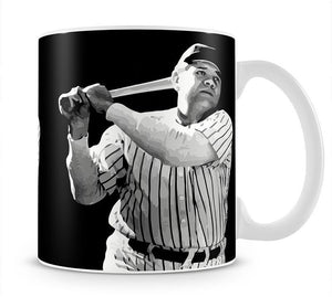 Babe Ruth Mug - Canvas Art Rocks - 1