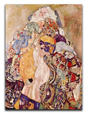 Baby by Klimt Canvas Print or Poster  - Canvas Art Rocks - 1