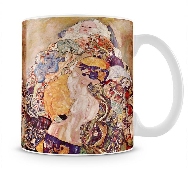 Baby by Klimt Cup - Canvas Art Rocks - 1