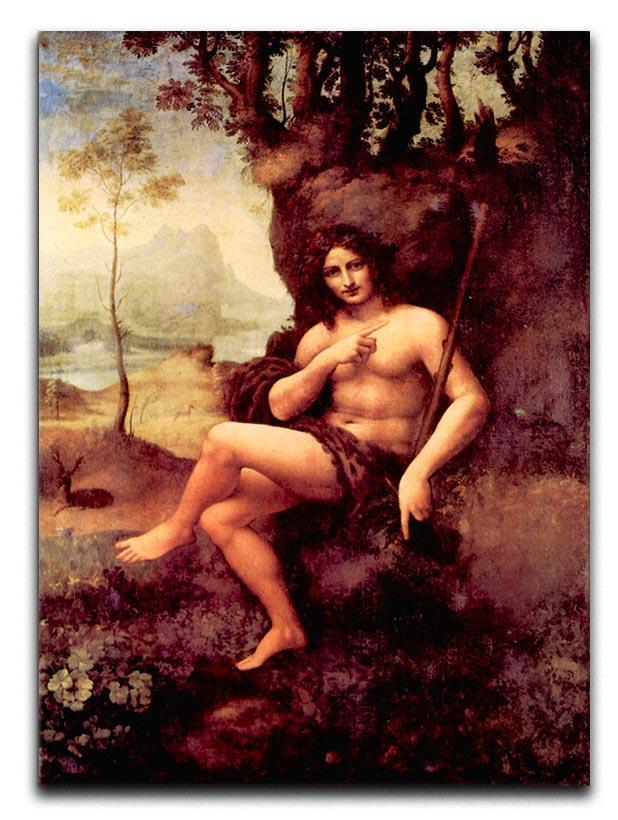 Bacchus by Da Vinci Canvas Print & Poster  - Canvas Art Rocks - 1