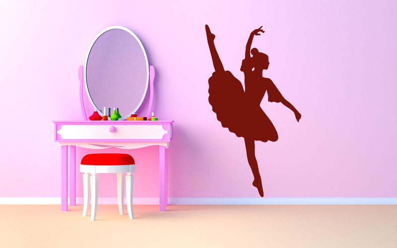 Ballet Dancer - Version 1 Wall Decal - Canvas Art Rocks - 1