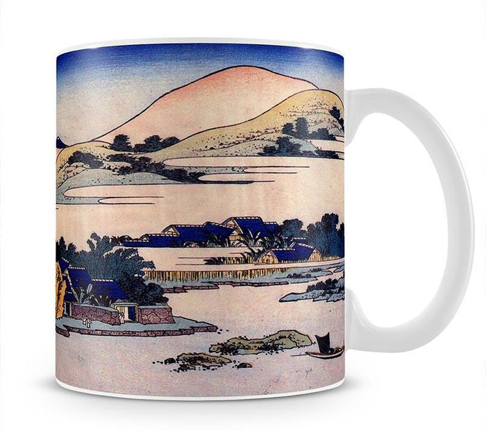 Banana plantation at Chuto by Hokusai Mug