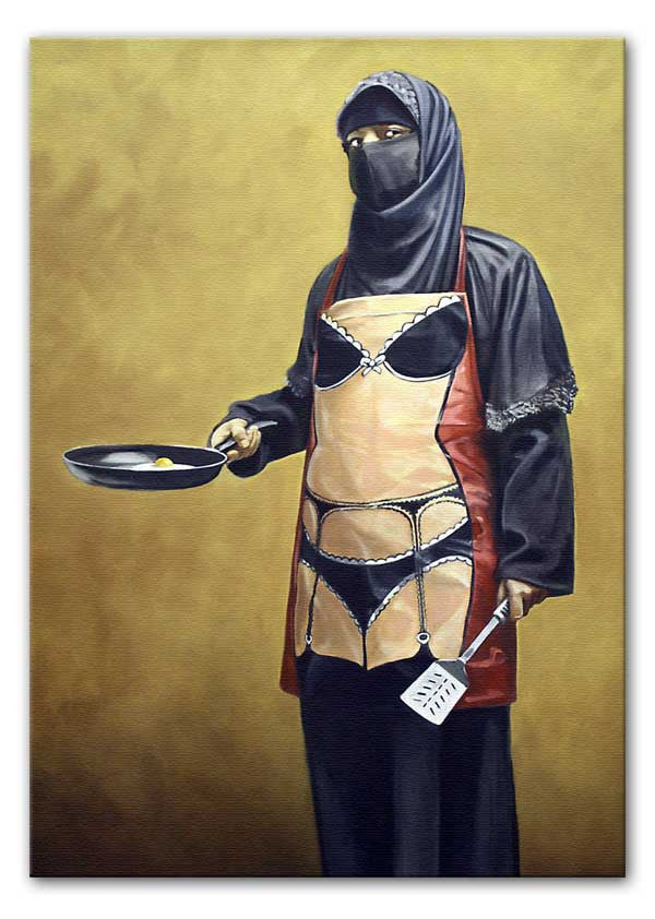 Banksy How Do You Like Your Eggs Canvas Print or Poster