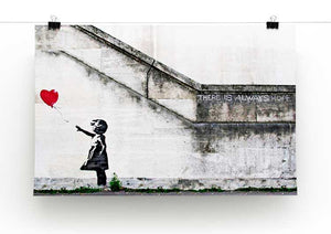Banksy There is Always Hope Print - Canvas Art Rocks - 2