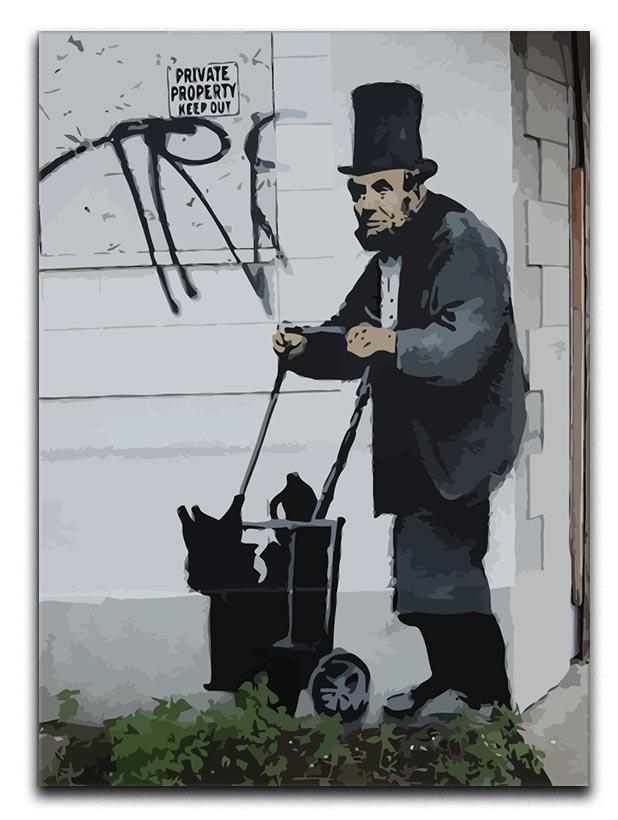 Banksy Abraham Lincoln Canvas Print or Poster