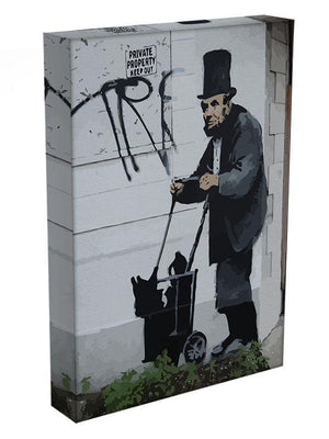 Banksy Abraham Lincoln Canvas Print or Poster - Canvas Art Rocks - 3