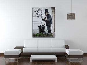 Banksy Abraham Lincoln Canvas Print or Poster - Canvas Art Rocks - 4