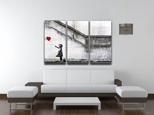 Banksy There Is Always Hope 3 Split Canvas Print - Canvas Art Rocks