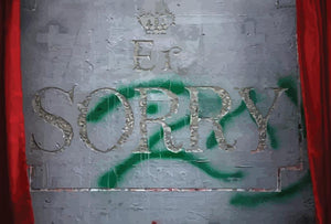 Banksy Apology Party For Palestinians Wall Mural Wallpaper - Canvas Art Rocks - 1