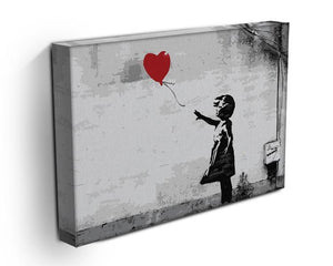 Banksy Balloon Girl Love Heart Canvas Print or Poster - Canvas Art Rocks - 3