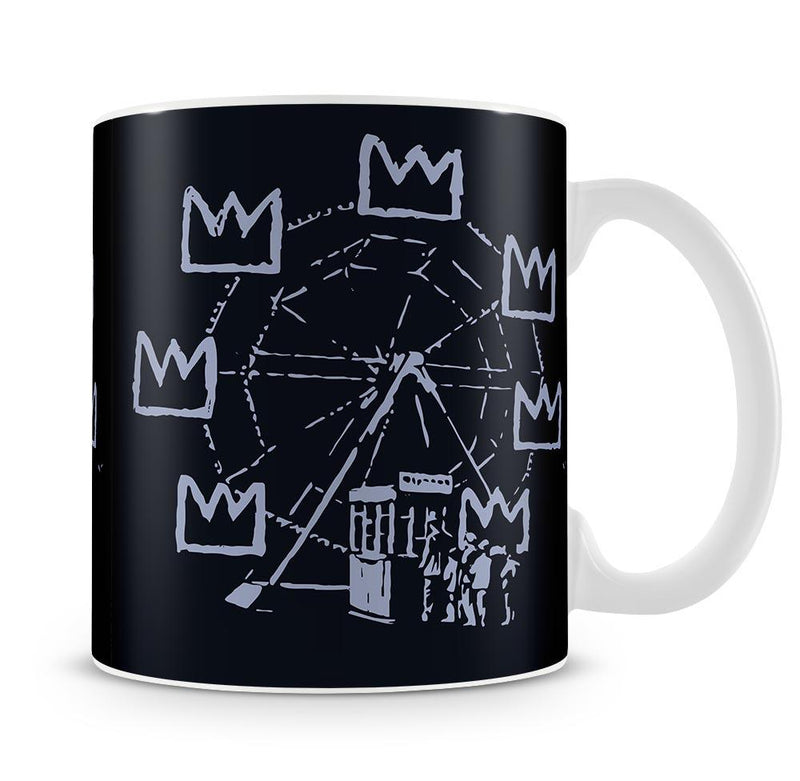 Banksy Basquiat Ferris Wheel Cup - Canvas Art Rocks