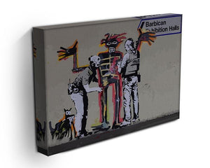 Banksy Basquiat Metropolitan Police Canvas Print or Poster - Canvas Art Rocks - 3