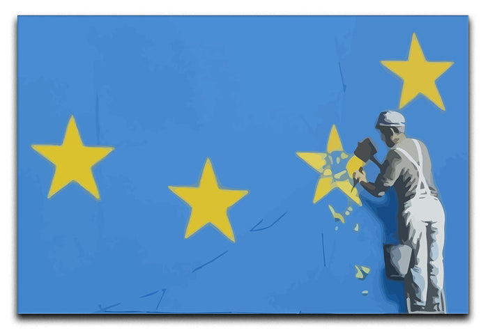 Banksy Brexit Star Dover Canvas Print or Poster
