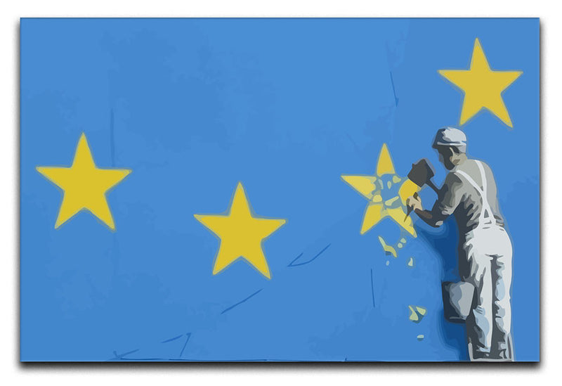 Banksy Brexit Star Dover Canvas Print & Poster - US Canvas Art Rocks
