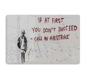 Banksy Call An Airstrike HD Metal Print