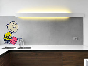 Banksy Charlie Brown Wall Decal - US Canvas Art Rocks