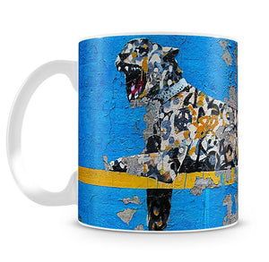 Banksy Cheetah Mug - Canvas Art Rocks