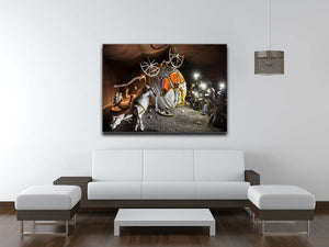 Banksy Cinderella Carriage Canvas Print & Poster - US Canvas Art Rocks