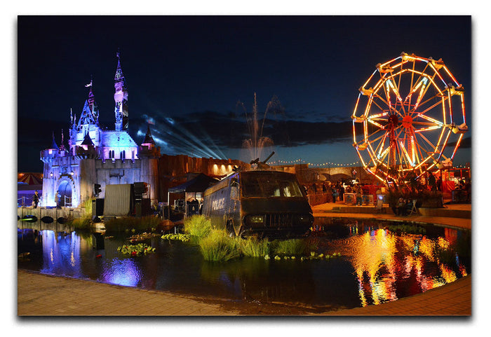 Banksy Dismaland Canvas Print or Poster