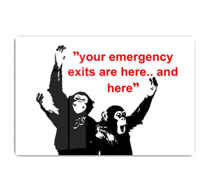 Banksy Emergency Exits HD Metal Print
