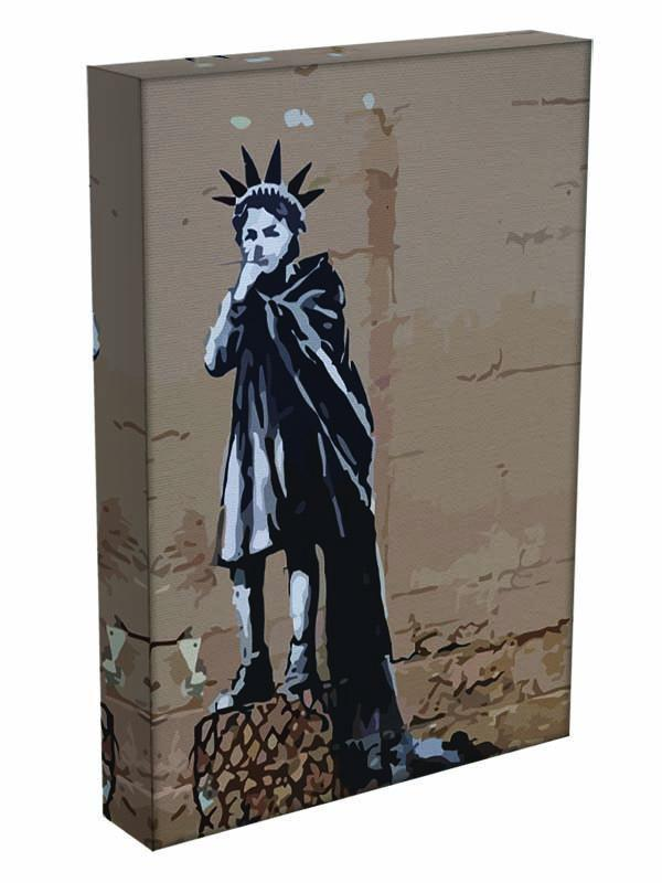 Banksy Empire State Kid Canvas Print or Poster - Canvas Art Rocks - 3