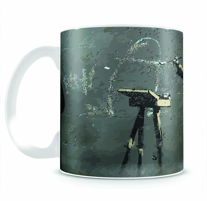 Banksy French Painter Cup - Canvas Art Rocks - 2