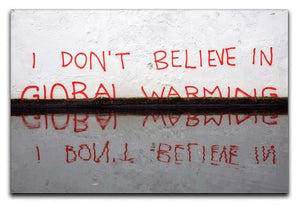Banksy Global Warming Canvas Print or Poster  - Canvas Art Rocks - 1