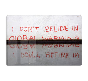 Banksy Global Warming HD Metal Print