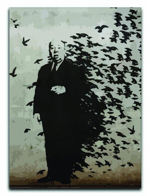 Banksy Hitchcock Birds Canvas Print or Poster  - Canvas Art Rocks - 1