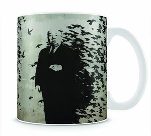 Banksy Hitchcock Birds Mug - Canvas Art Rocks - 1