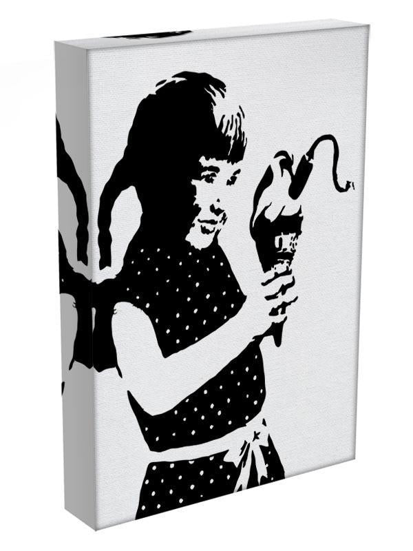 Banksy Ice Cream Bomb Canvas Print or Poster - Canvas Art Rocks - 3