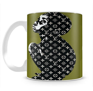 Banksy Louis Vuitton Kid Mug - Canvas Art Rocks - 4
