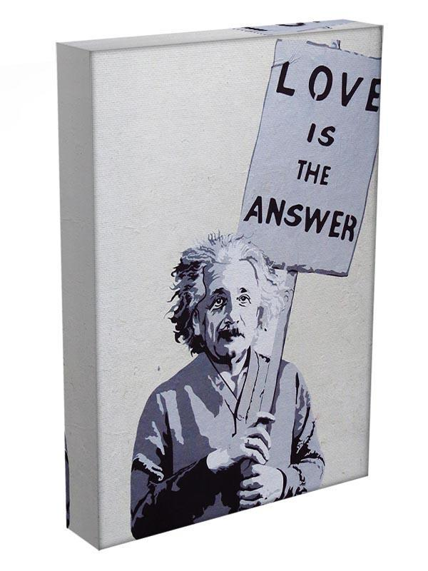 Banksy Love Is The Answer Canvas Print or Poster - Canvas Art Rocks - 3