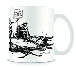 Banksy Luxury Loft Mug - Canvas Art Rocks - 1