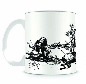 Banksy Luxury Loft Mug - Canvas Art Rocks - 2
