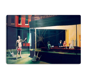 Banksy Nighthawks HD Metal Print
