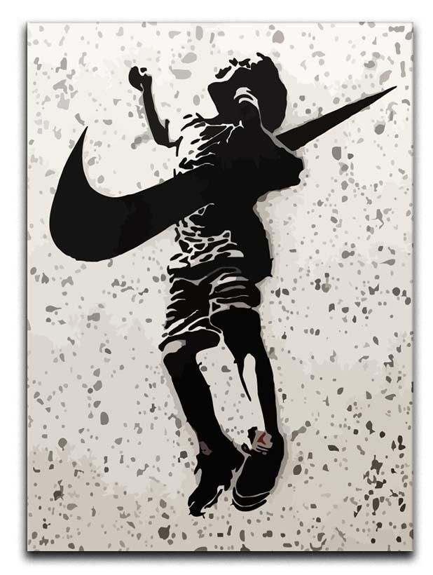 Banksy Nike Canvas Print or Poster