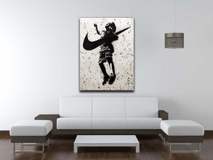 Banksy Nike Canvas Print or Poster - Canvas Art Rocks - 4