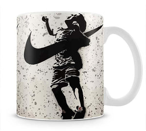 Banksy Nike Mug - Canvas Art Rocks - 1
