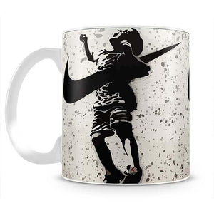 Banksy Nike Mug - Canvas Art Rocks - 2
