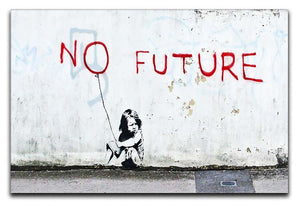 Banksy No Future Canvas Print or Poster  - Canvas Art Rocks - 1