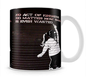 Banksy No Kindness Mug - Canvas Art Rocks - 1