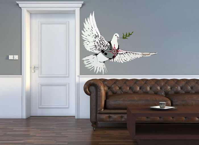 Banksy Peace Dove Wall Sticker