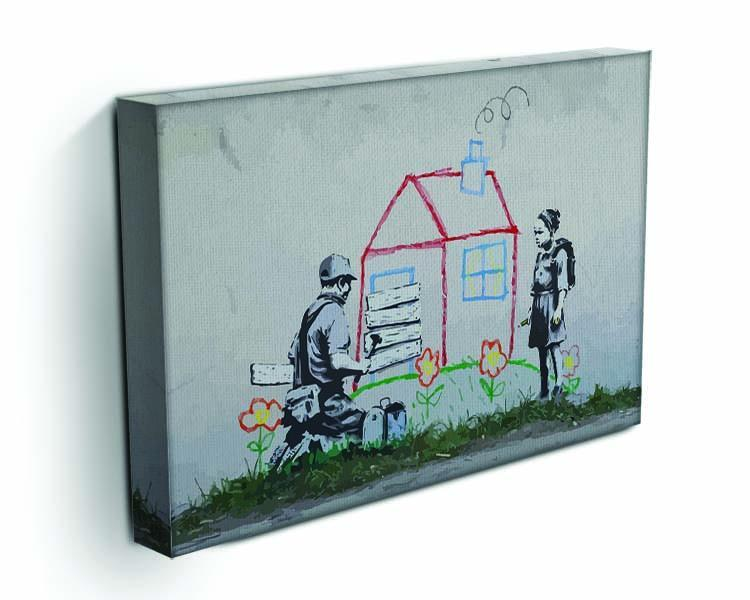 Banksy Play House Canvas Print or Poster - Canvas Art Rocks - 3